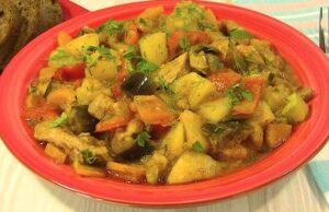 Овощное рагу с кабачками и баклажанами — 5 простых и вкусных рецептов