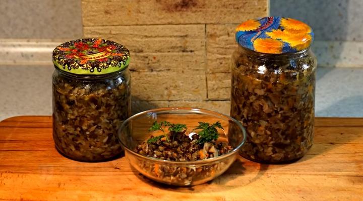 Самый вкусный рецепт грибной икры из опят на зиму