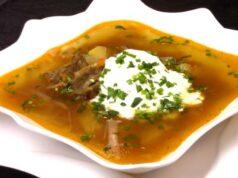 Щи из квашеной капусты со свининой – вкусный классический рецепт