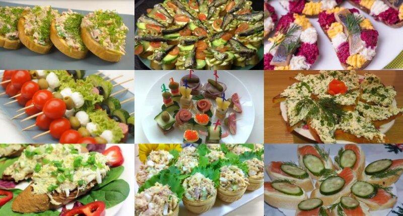 Бутерброды на Новый 2020 год — простые и вкусные рецепты на праздничный стол