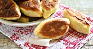 Пирожки с картошкой на сковороде — рецепты вкусных и тонких жареных пирожков