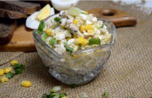 Салаты из печени трески — вкусные рецепты простых и недорогих салатов