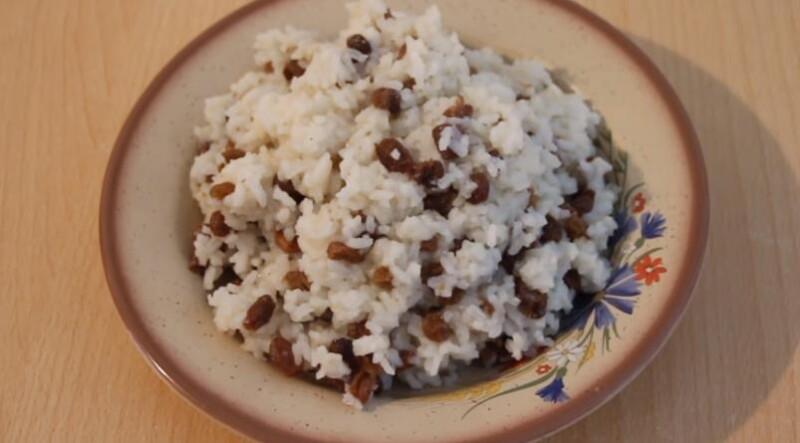 Классическая поминальная кутья из риса с изюмом и медом. Как приготовить кутью на поминки