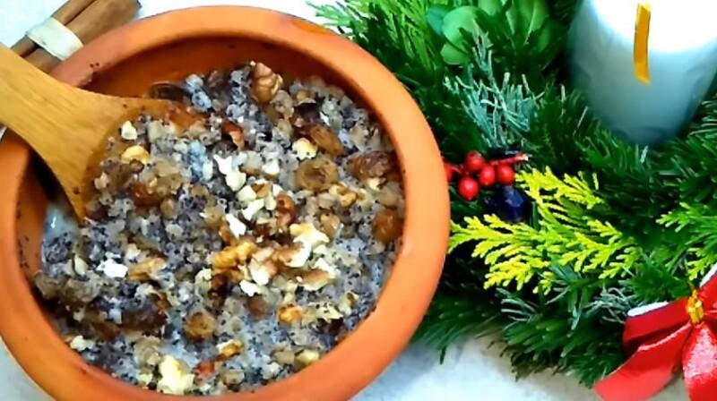 Рождественский вариант кутьи (сыта) с медовой водой