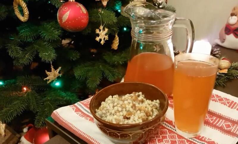 Рождественский рецепт узвара для кутьи из сухофруктов