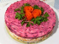 Селёдка под-шубой классические рецепты салатов с последовательностью слоёв и оригинальным оформлением