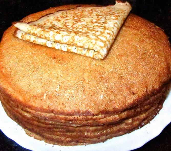 Ажурные и вкусные блины на кефире (старинный бабушкин фото-рецепт)