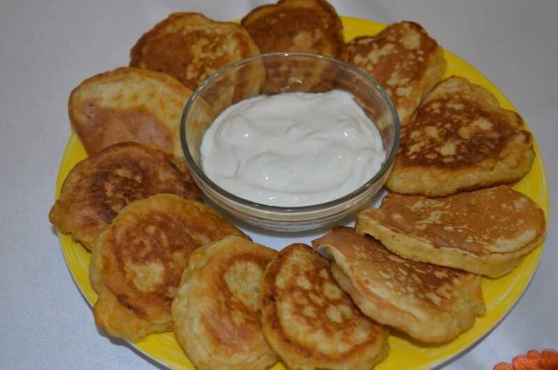 Тыквенные оладьи на кефире — лучший рецепт пышных оладьев из тыквы на сковороде