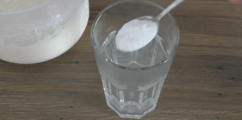 добавляем соду