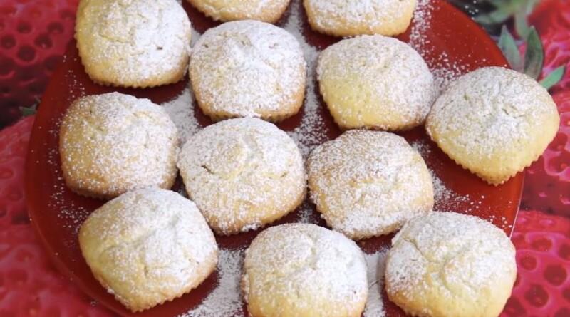 Как приготовить вкусные творожные кексы на кефире в духовке