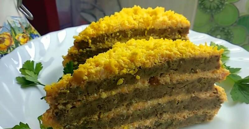 Пошаговый рецепт ленивого печеночного торта в духовке без выпекания коржей.