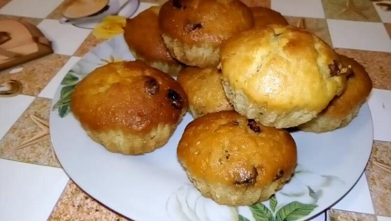Рецепт кексов на кефире без яиц по простому и вкусному рецепту