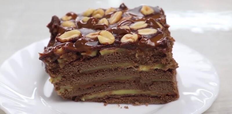 Самый вкусный торт Муравейник из крошки печенья без выпечки со сгущенкой и сметаной — фото-рецепт на скорую руку