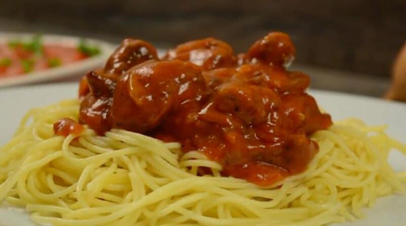 Вкусный рецепт бефстроганов из говядины без сметаны с томатной пастой
