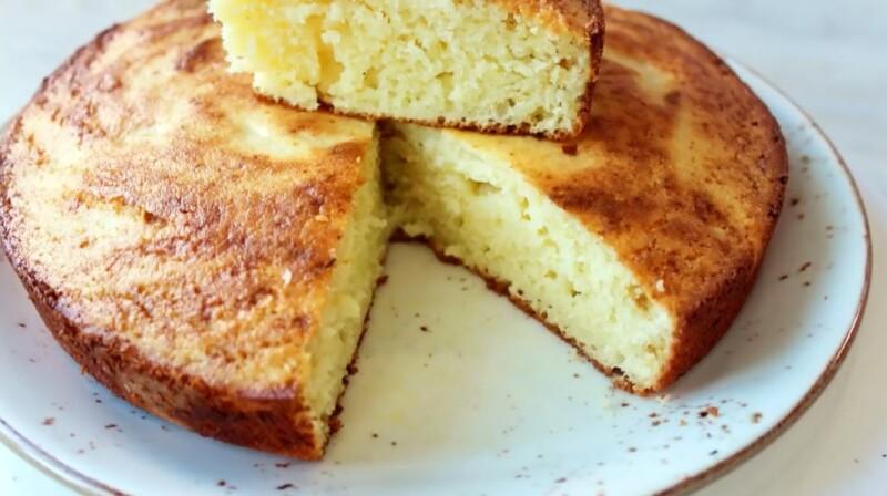 Воздушный и рассыпчатый манник на сметане в духовке — очень вкусный фото-рецепт пышного десерта