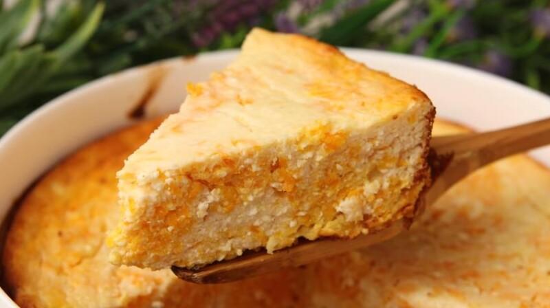Быстрый рецепт вкусной запеканки из творога с тыквой в духовке
