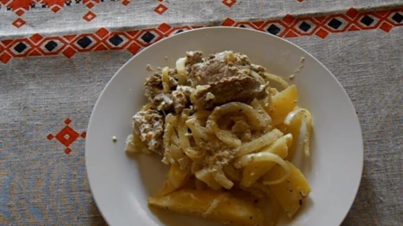 Изумительная свинина с картофелем в фольге, запеченная в духовке