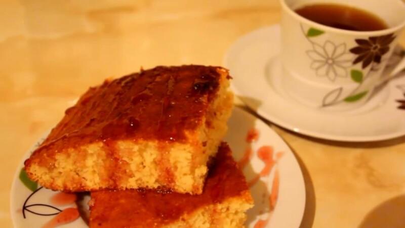 Пирог на кефире — простой и быстрый рецепт в духовке на скорую руку