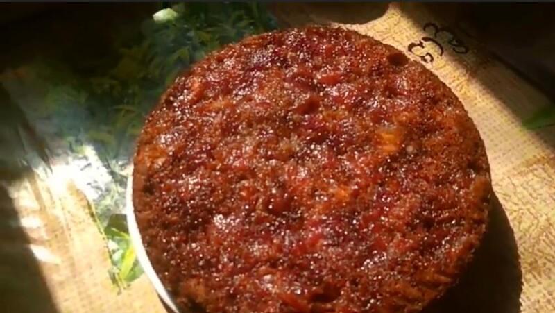 Пирог с вареньем на кефире в духовке на скорую руку просто, быстро и вкусно