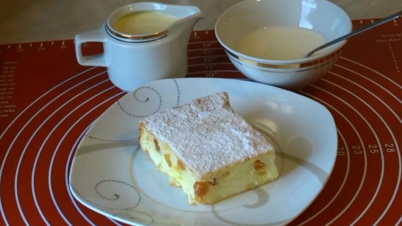 Пышная творожная запеканка в духовке — классический рецепт приготовления