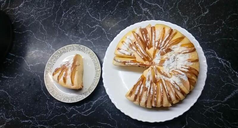 Творожная запеканка с яблоками в духовке. Пошаговый рецепт приготовления