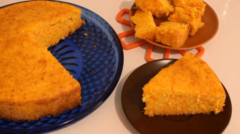 Тыквенный пирог на кефире — быстрый и простой рецепт