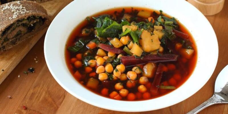 Диетический суп с крапивой и шпинатом — рецепт супа как у Леовит Детокс