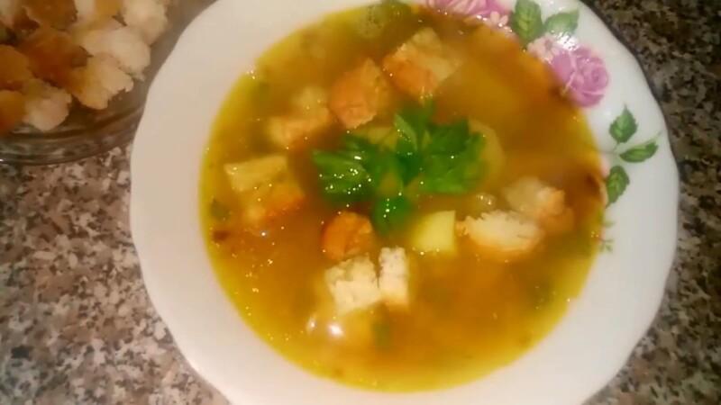 Как сварить гороховый суп с курицей на курином бульоне, чтобы разварился горох