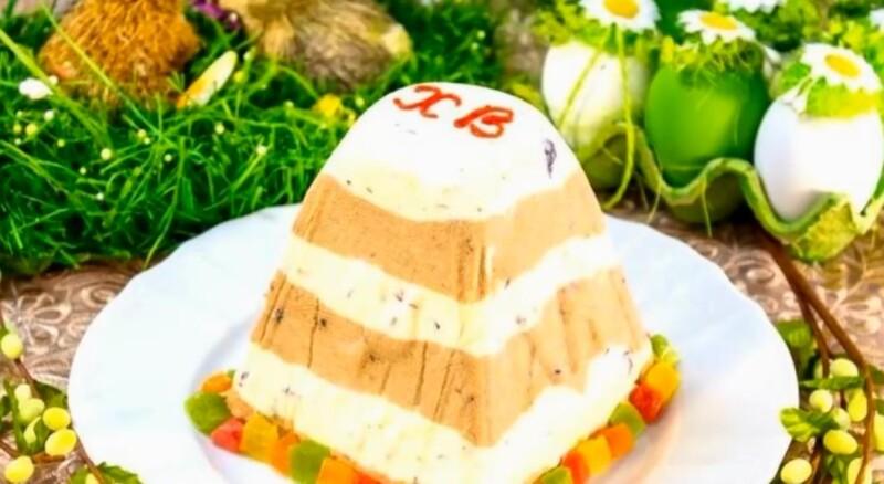 Творожная Пасха заварная — классические рецепты приготовления. Царская пасха без выпечки