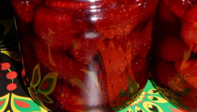 Варенье из клубники Пятиминутка на зиму — классический рецепт с лимонной кислотой