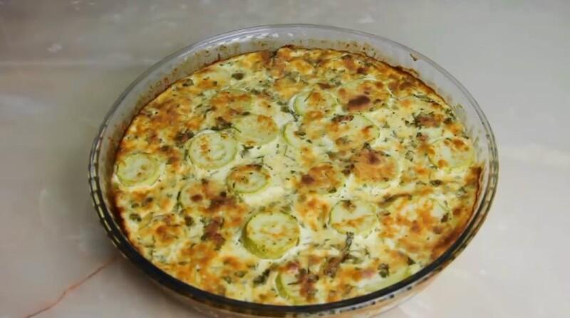 Быстрый и вкусный рецепт кабачков в духовке с яйцом и сыром