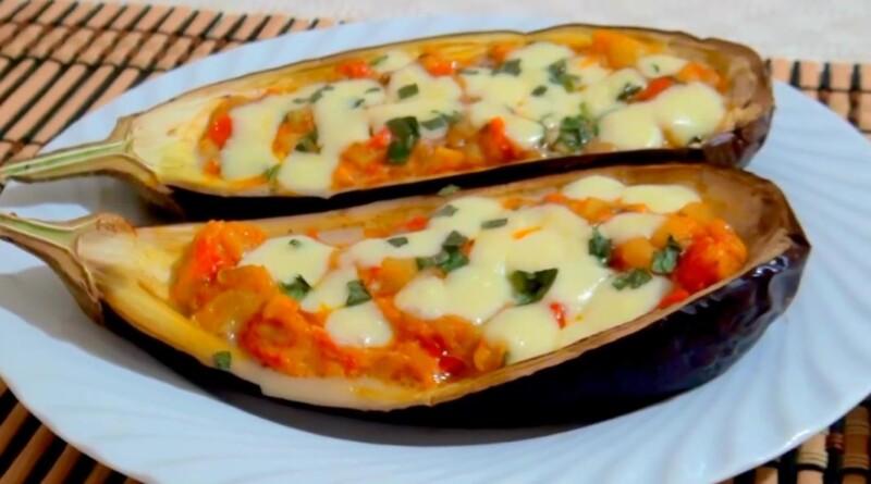 Быстрый рецепт баклажан с сыром моцареллой в духовке — получается очень вкусно