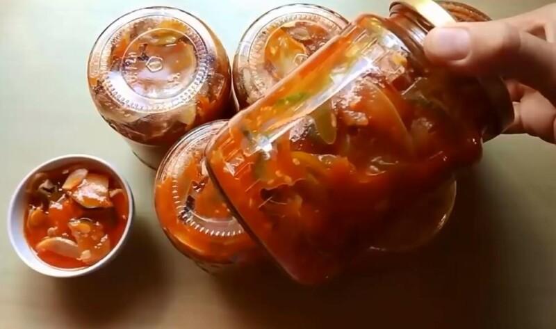 Как приготовить лечо из кабачков, перца и помидоров на зиму без стерилизации