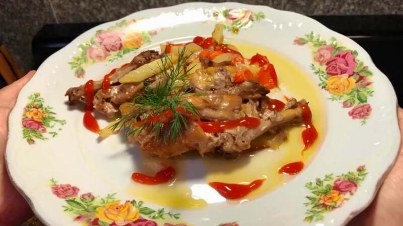 Как запечь вкусные куриные голени в духовке в фольге (пошаговый фото-рецепт)