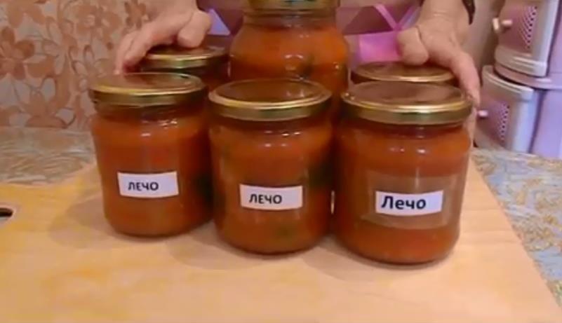 Лечо из перца и помидоров на зиму — простой рецепт «пальчики оближешь»