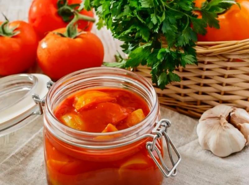 Лечо из перца и помидоров с чесноком — пошаговый фото-рецепт на зиму