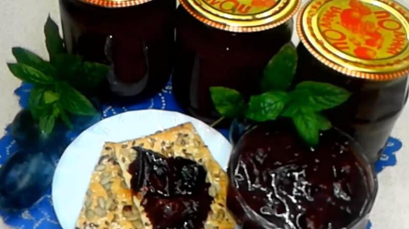 Лучшее варенье из сливы с какао и сливочным маслом