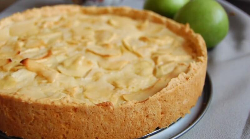 Цветаевский яблочный пирог — классический рецепт