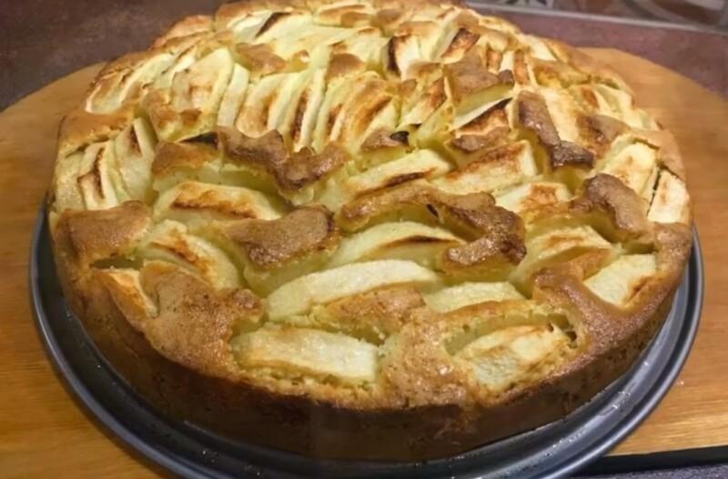 Итальянский яблочный пирог по-деревенски с корицей — рецепт с пошаговым описанием