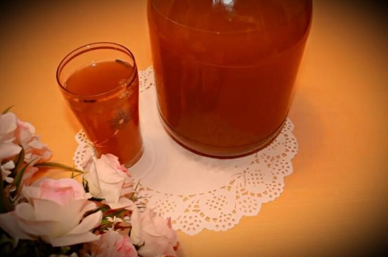 Как сделать квас из цикория, лимонной кислоты и сухих дрожжей