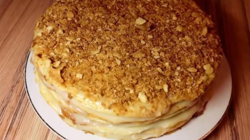 Классический торт Наполеон — самый вкусный и самый простой рецепт советского времени