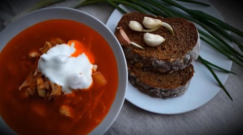 Настоящий украинский борщ — самый вкусный рецепт