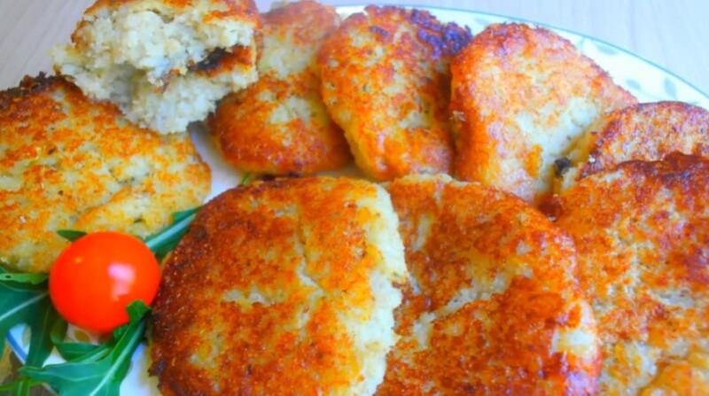 Очень вкусный рецепт рыбных котлет с овсяными хлопьями