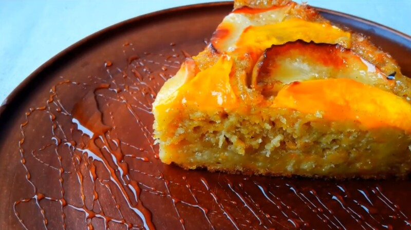 Рецепт пирога из тыквы с яблоками в духовке — быстрый и вкусный
