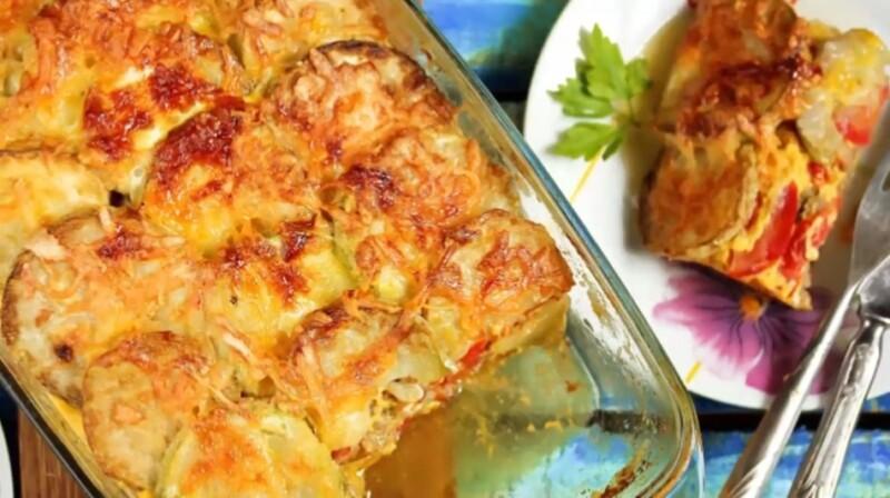 Рецепт запеканки из кабачков и картофеля в духовке