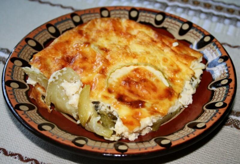 Вкусная запеканка из кабачков с курицей и картошкой без сыра — простой рецепт