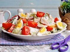 Салат с куриной грудкой — 21 простой рецепт вкусного салат