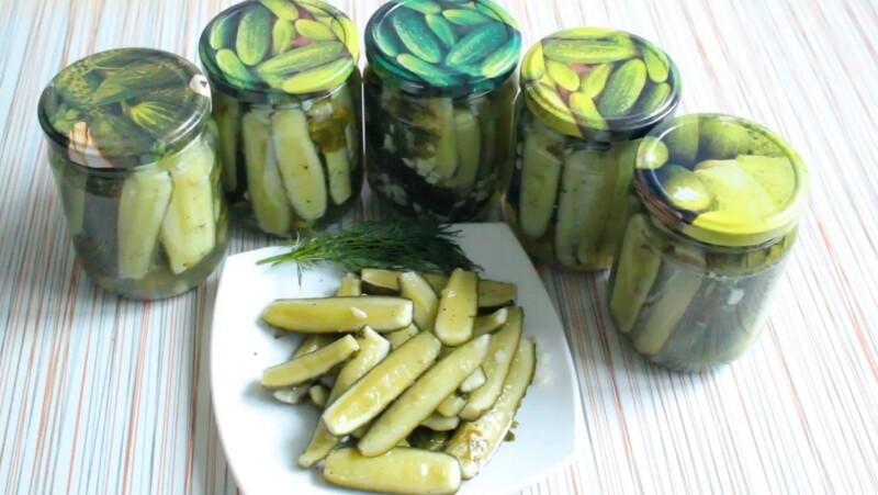 Вкусные огурцы по-корейски на зиму — рецепт на 4 кг огурцов