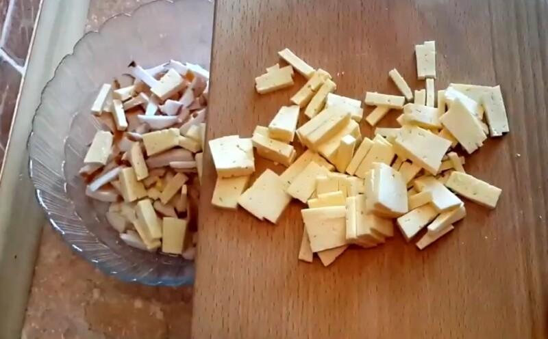 грудка и сыр