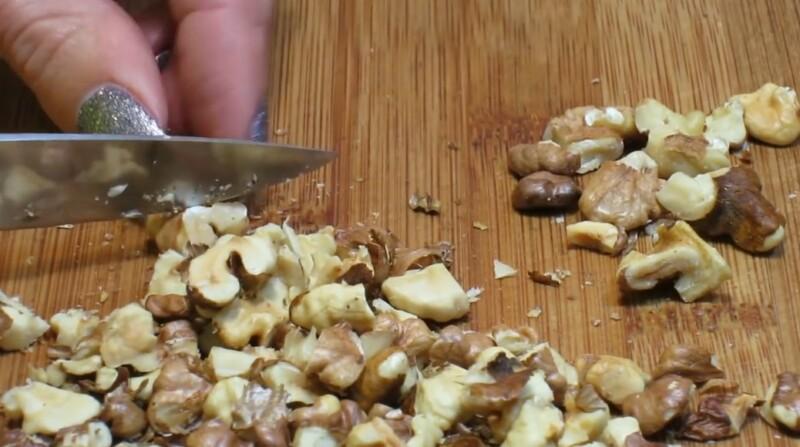измельчим орехи